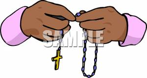 300x160 Hands Holding Rosary Beads