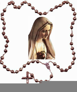 252x300 Mysteries Rosary Clipart Free Images