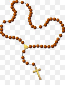 260x340 Rosary Prayer Beads Clip Art
