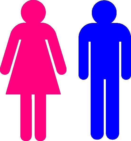 552x596 Symbol Male And Female Clip Art