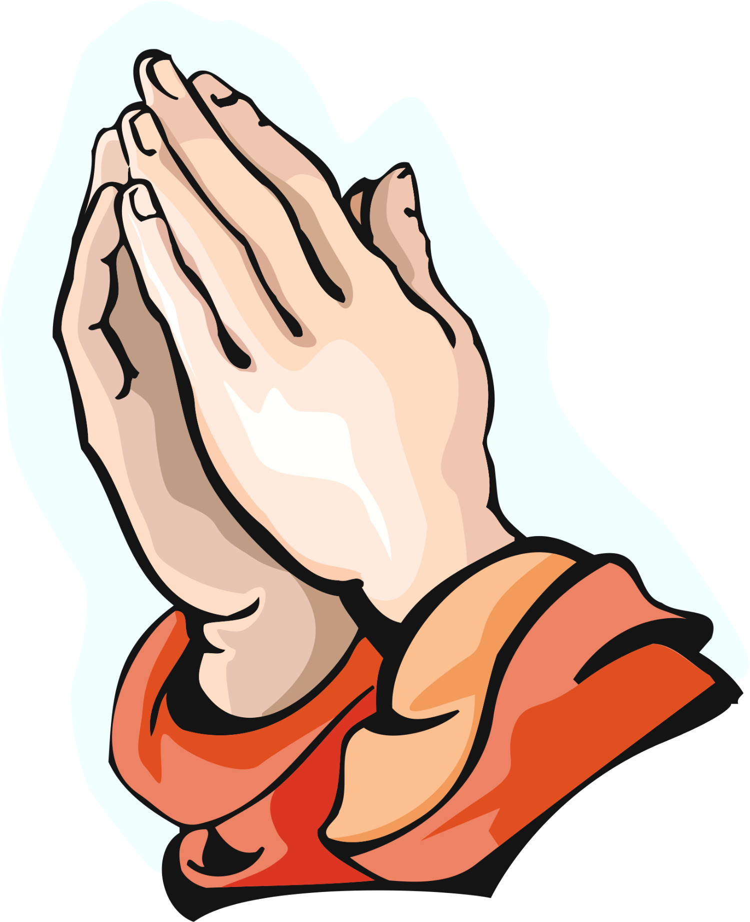 1500x1842 Praying Hands Clip Art