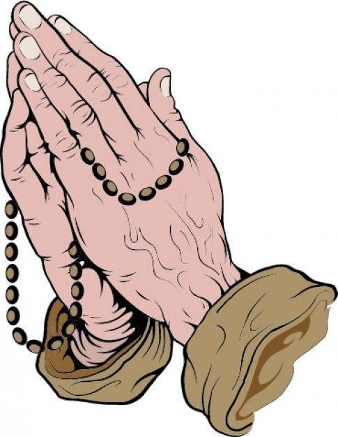 485x626 Praying Hands With Rosary Prays The Lord Praying Hands