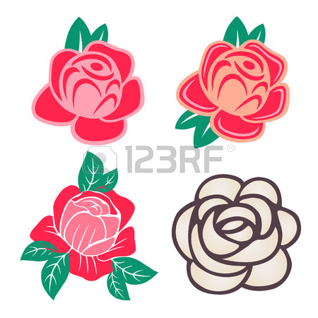 Rose Bush Clipart