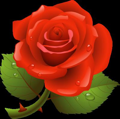 400x396 Rose Clip Art Amp Rose Clipart Images
