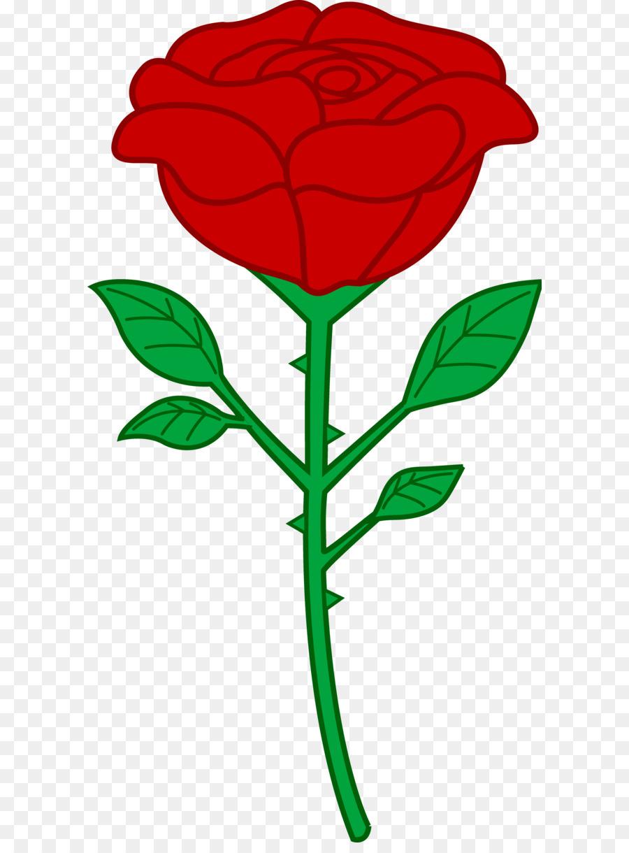 900x1220 Rose Red Clip Art
