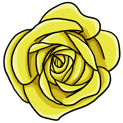 400x400 Clipart Yellow Roses Clipart Rose 1 Yellow Rose Clip Art L