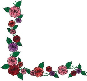 300x280 Free Clip Art Roses Yellow Rose Border Clip Art Alihkan.us