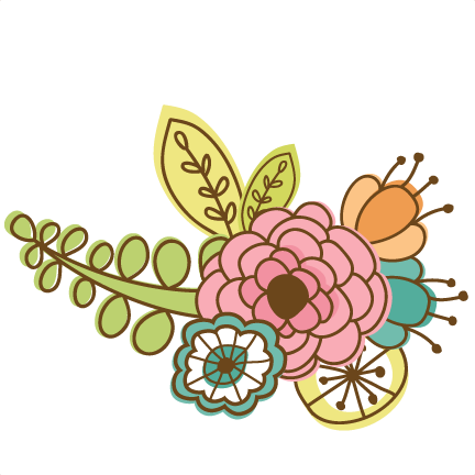 432x432 Doodle Flowers Svg Cutting Files Doodle Cut Files For Scrapbooking