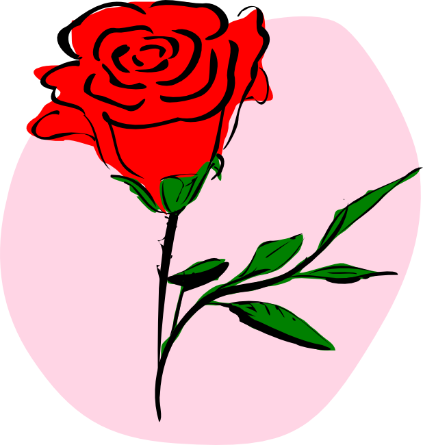618x650 Free Rose Clipart Animations And Vectors