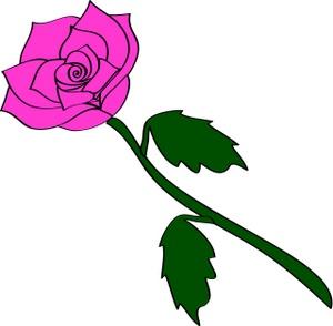 300x294 Rose Clip Art