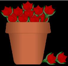 230x224 Flower Clip Art
