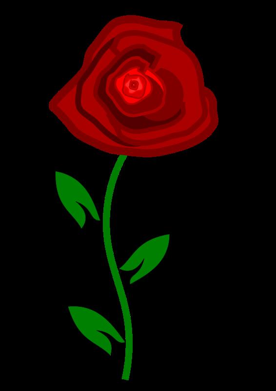 566x800 Free Rose Clipart Public Domain Flower Clip Art Images