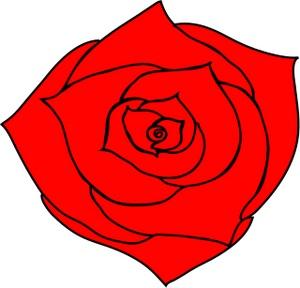 300x288 Rose Clip Art