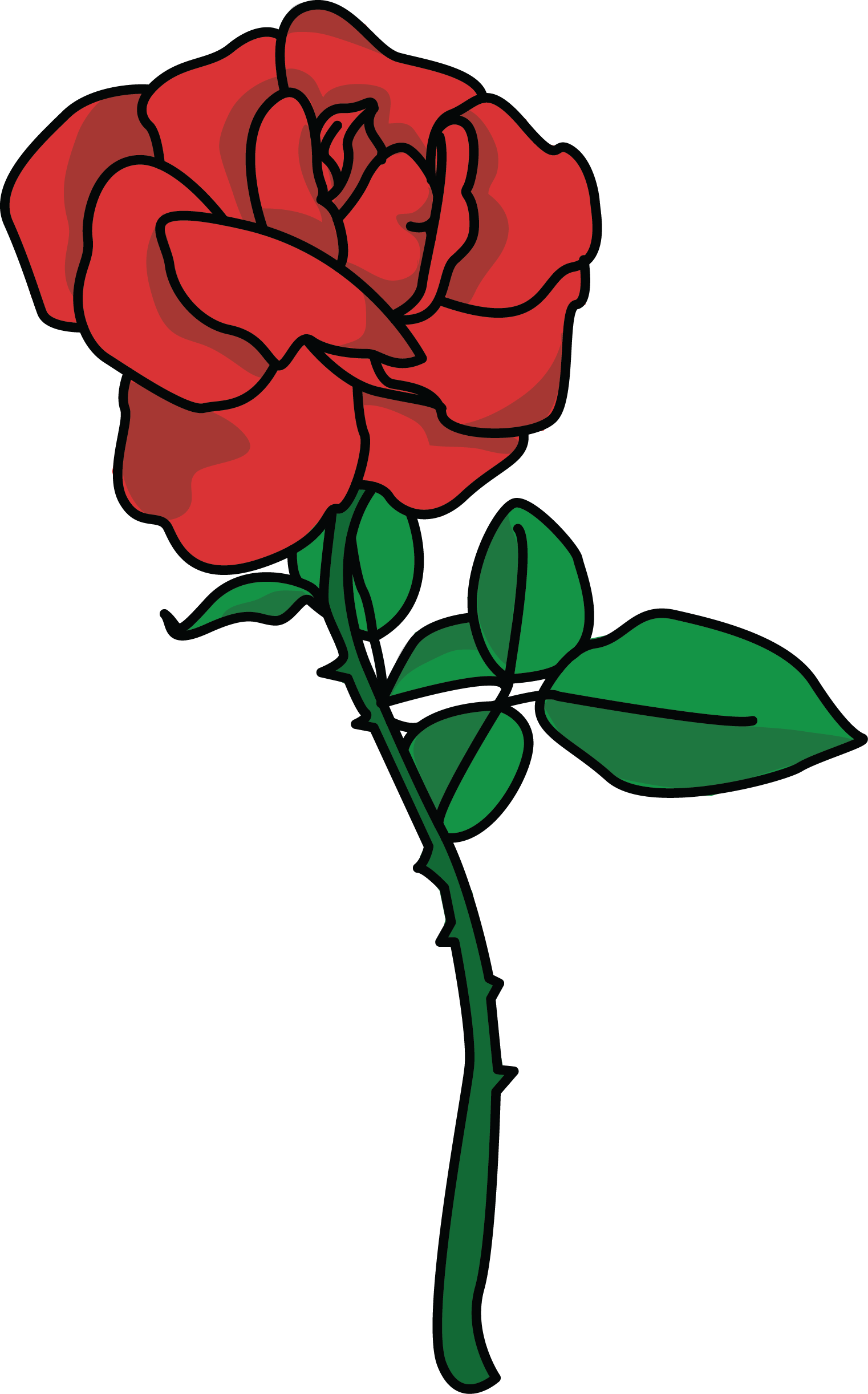 1522x2444 Free Rose Petal Clipart