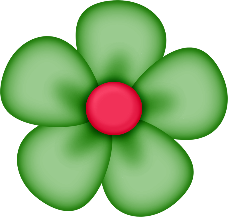 800x762 Green Flower Clipart Sd Element 34 Flowers Scrapbooking And Clip