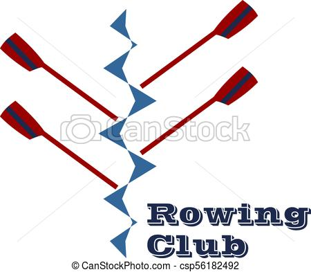 450x393 Vector Logo For Rowing Club Eps Vectors