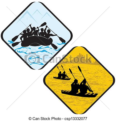 450x470 Water Sea Sport Rowing Rafting Kayak Icon Symbol Sign Vectors