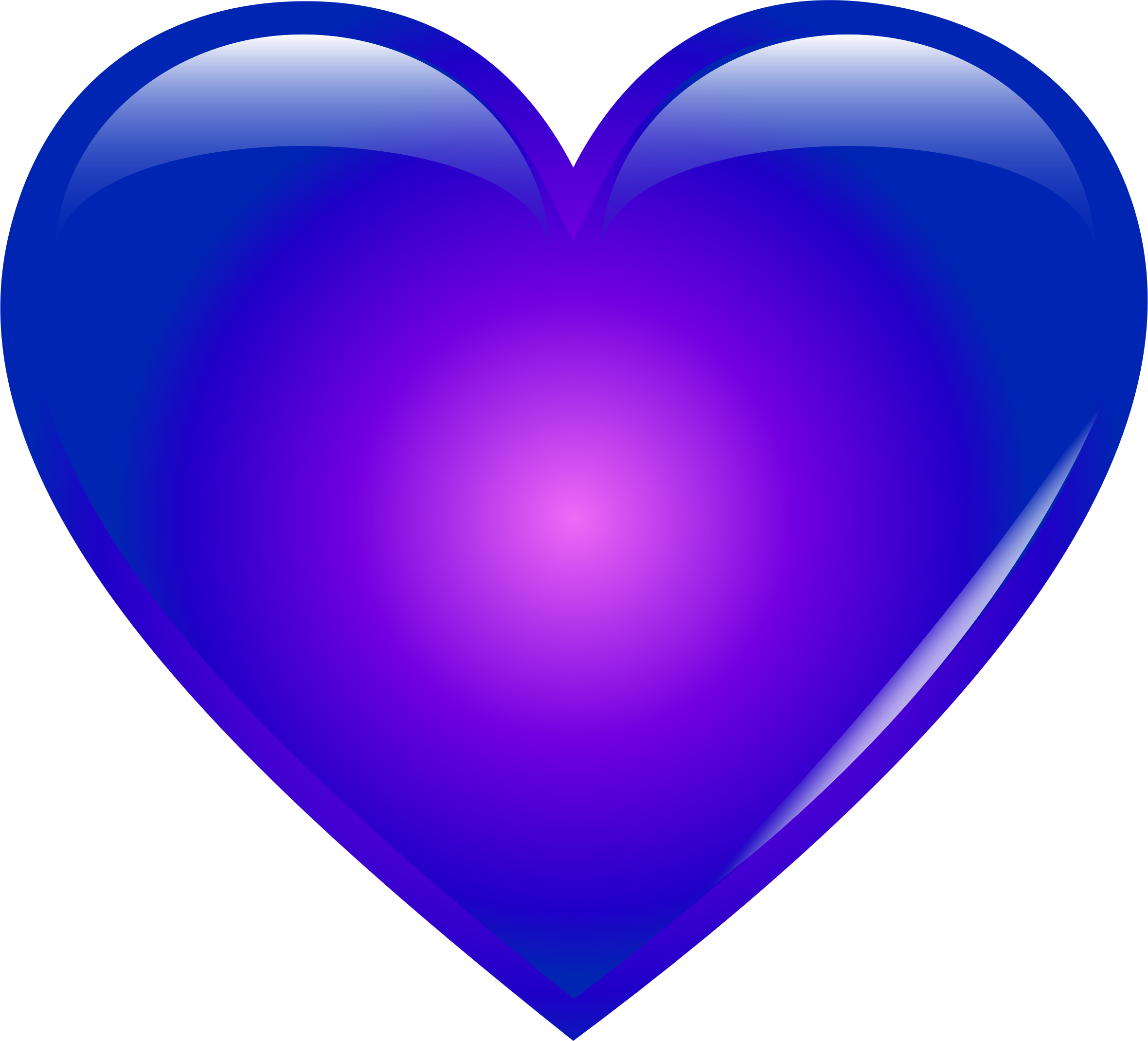2360x2140 Extremely Inspiration Blue Heart Clip Art Clipart Love Images