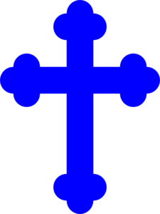 225x300 Royal Blue Cross Png, Svg Clip Art For Web