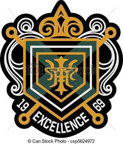 403x470 Classic Royal Emblem Badge Shield Clip Art
