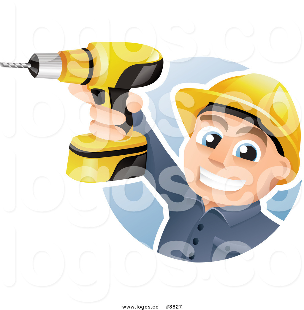 1024x1044 Royalty Free Clip Art Vector Happy Construction Worker Holding Up