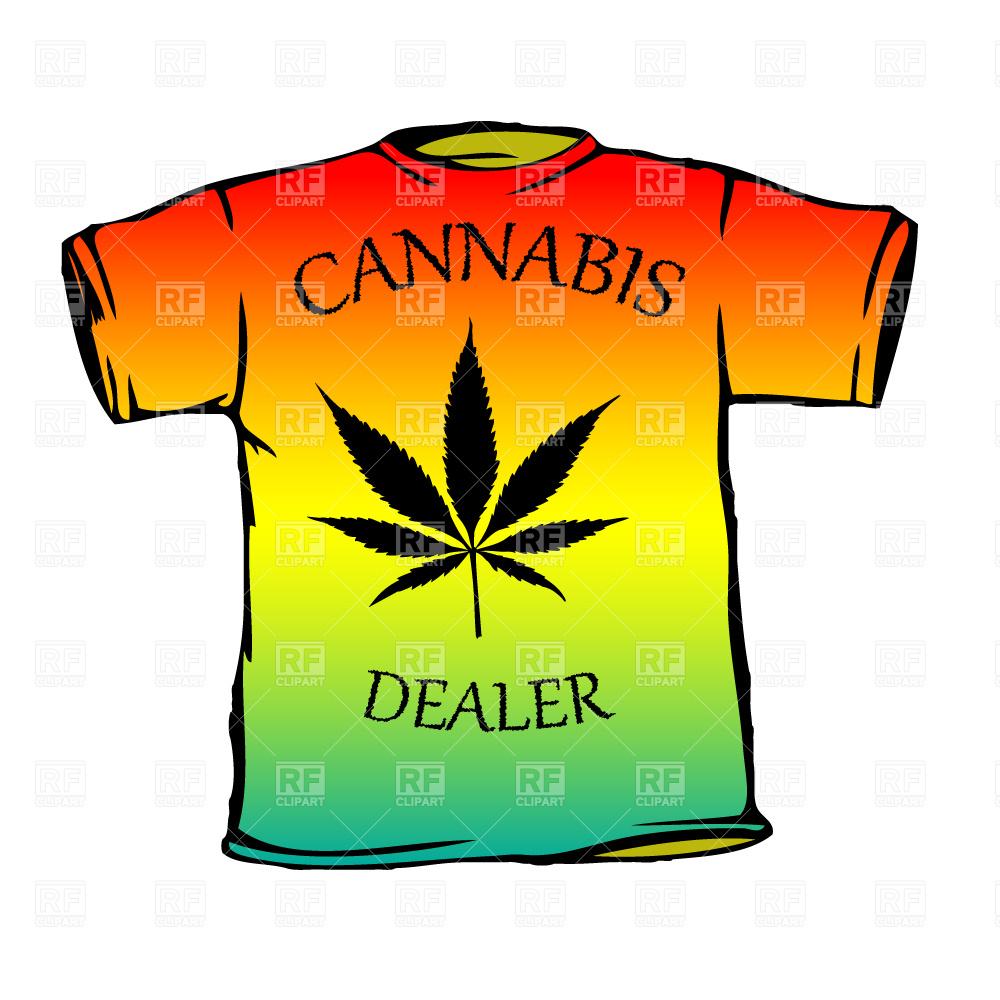 1000x1000 Cannabis Dealer Rasta T Shirt Royalty Free Vector Clip Art Image