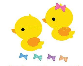 340x270 cute rubber duck clipart