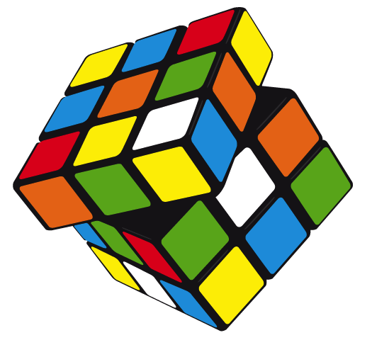 525x480 Free Download Of Vector Rubik's Cube Vector Graphic