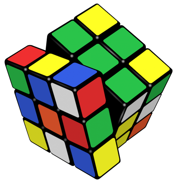 600x626 Cool Facts About Rubik's Cube