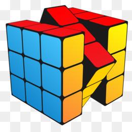 260x260 Rubiks Cube Sticker Puzzle Clip Art