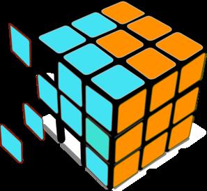 297x273 Rubiks Cube White Pro Clip Art