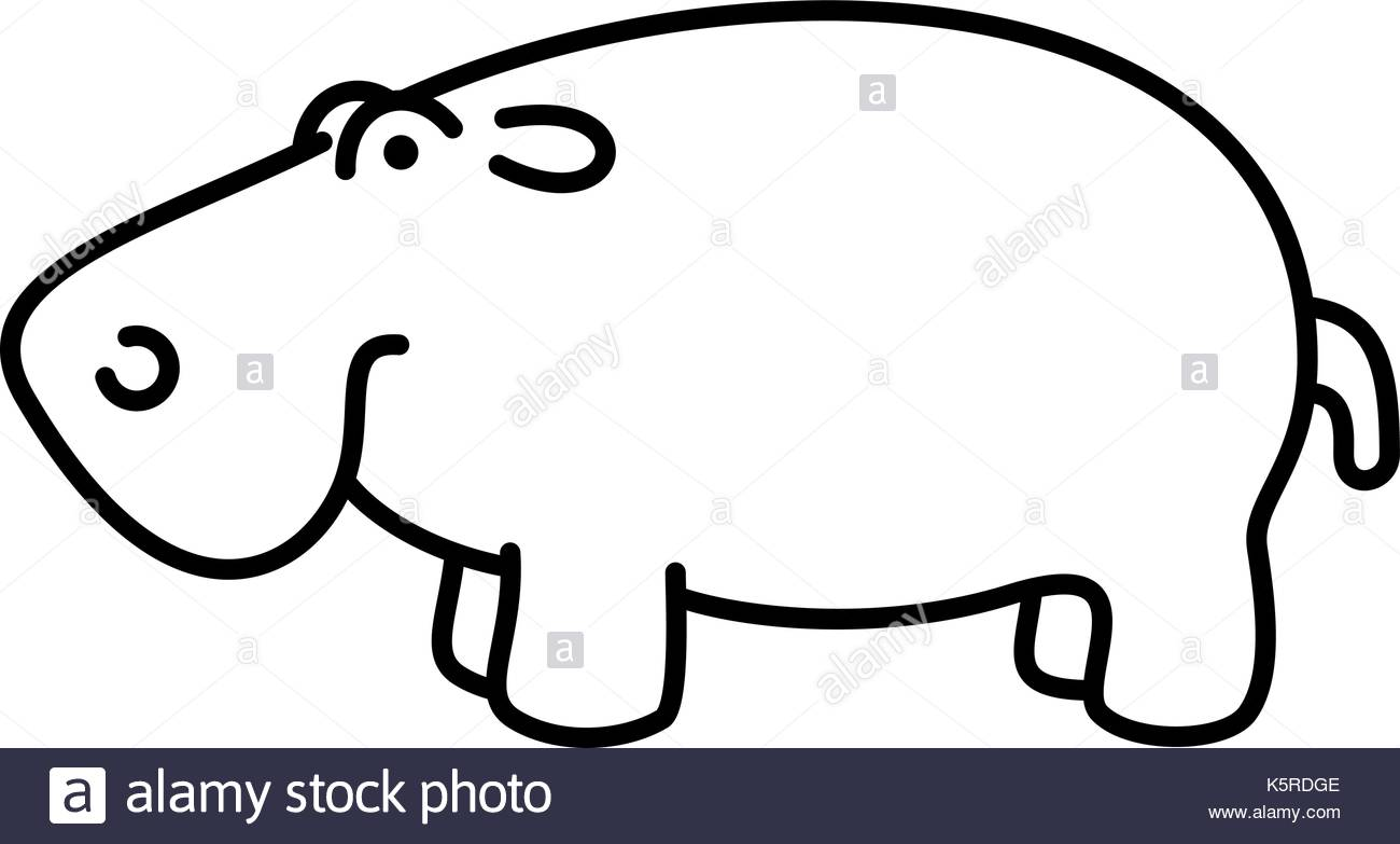 1300x783 Hippo Baby Black And White Stock Photos Amp Images