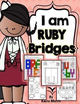 270x350 Ruby Bridges Black History Month Activities Black History Month