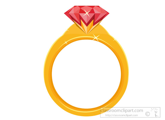 550x400 Gems And Minerals Clipart Gold Ring With Ruby Gems And Minerals