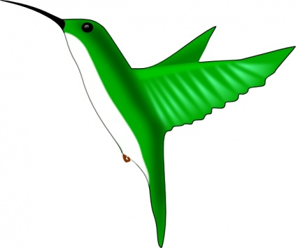 425x357 Free Download Of Ruby Throated Hummingbird Vector Graphic