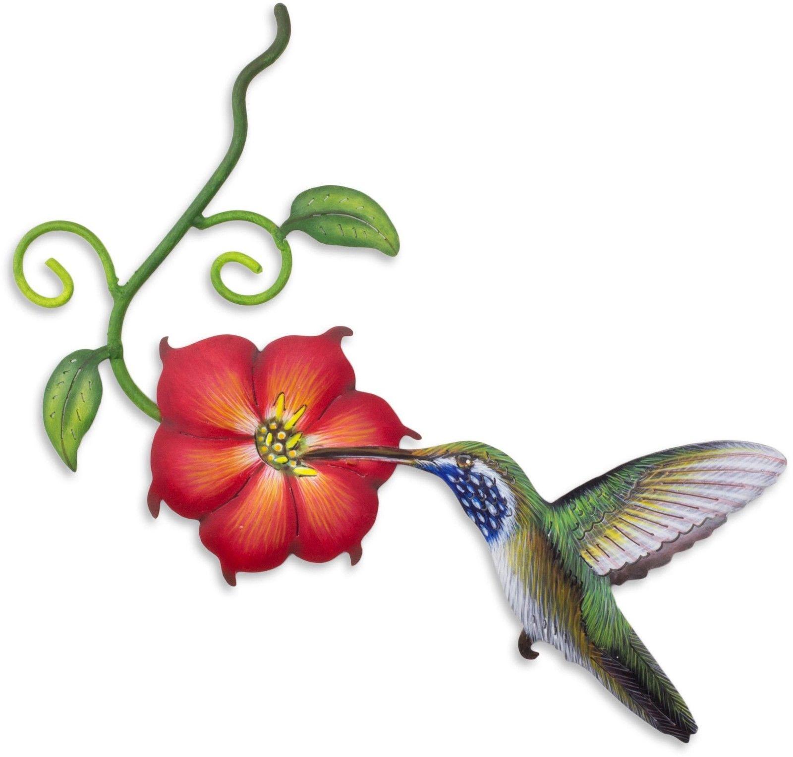 1600x1528 Hummingbird Wall Decor Metal Garden Art Sculpture Home Patio