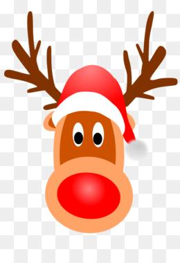 260x380 Reindeer Rudolph Santa Claus Clip art