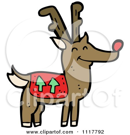 450x470 Royalty Free (Rf) Reindeer Clipart, Illustrations, Vector Graphics