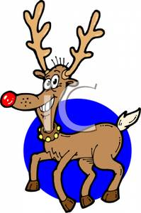 199x300 Rudolph The Red Nosed Reindeer Clip Art Image