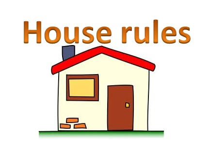 433x318 The House Rules Clipart Collection