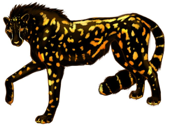 Running Cheetah Clipart