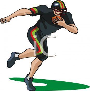 346x350 Top 83 Football Player Clip Art