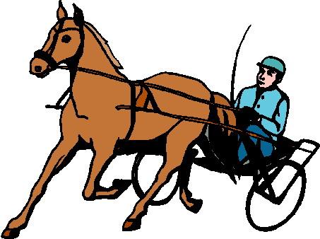 453x338 Horses Clip Art 2