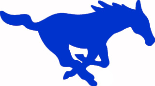 320x177 Blue Horse Clipart
