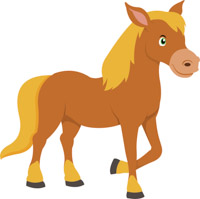 running horse clipart at getdrawings com free for personal use rh getdrawings com clip art horseshoe template clip art horses clouds