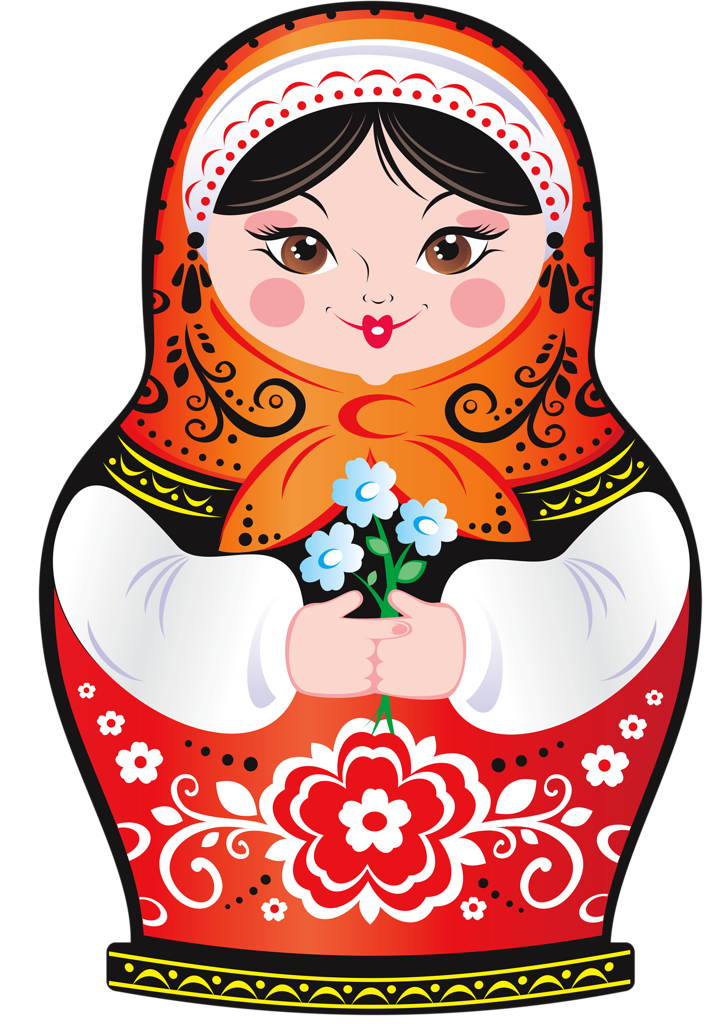 Russian Nesting Dolls Clipart