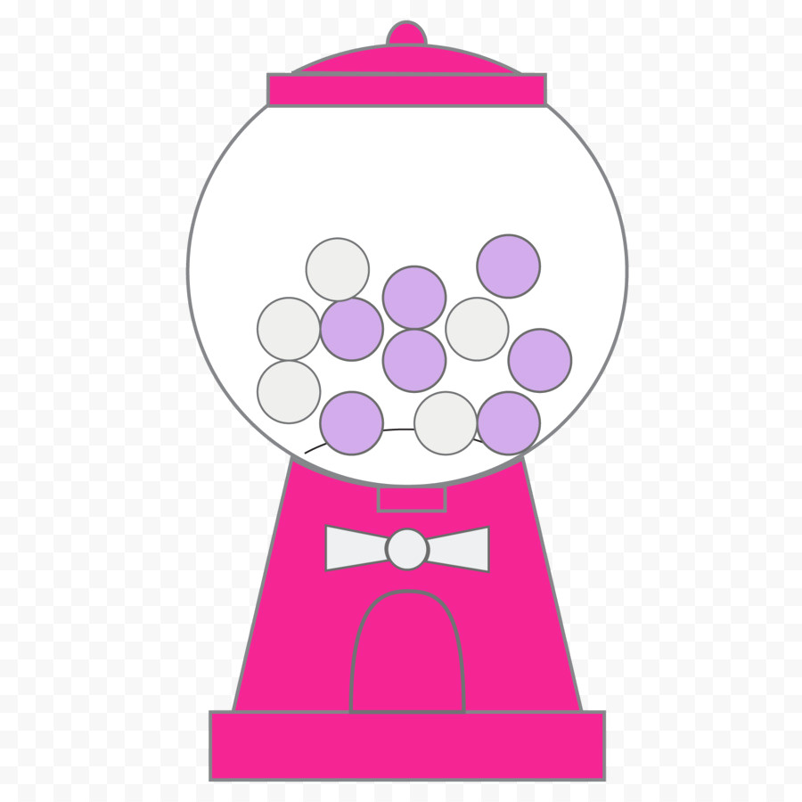900x900 Kisspng Chewing Gum Bubble Gumball Machine Clip Art Cliparts