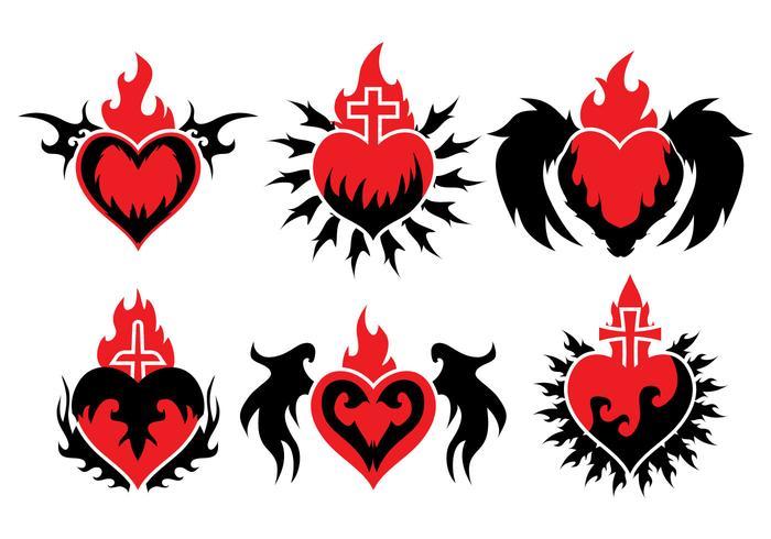 700x490 Sacred Heart Free Vector Art