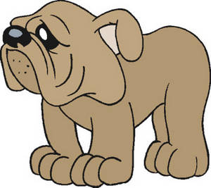 300x267 Free Clip Art Picture Of A Sad Looking Doggy
