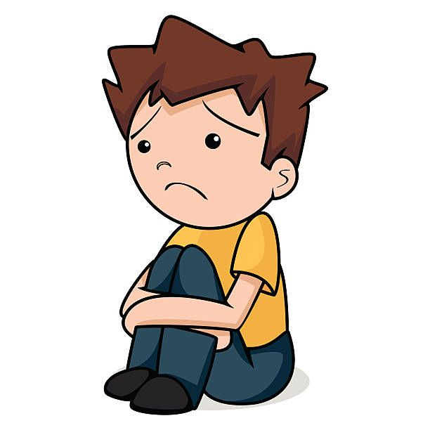 612x612 Image Result For Clipart Image Of Sad Boy General